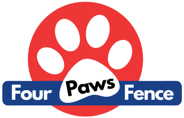 Four Paws Fence KC Logo